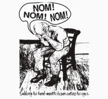 NOM NOM NOM : Hand Mouths by tommytidalwave