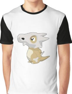 Cubone with Outline Graphic T-Shirt
