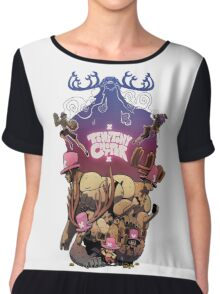 TONY TONY CHOPPER Chiffon Top