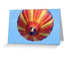 Heat up the sky! Greeting Card