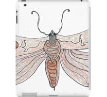 The Endangered Austyn Teal Moth (one-line #123) iPad Case/Skin
