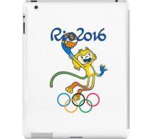 Olympic rio 2016 - Mascot Basketball - Brazil !!!  iPad Case/Skin