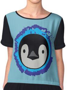 Penguin Chiffon Top
