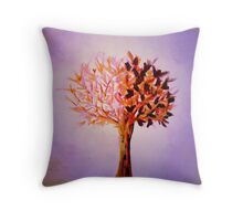 The Tree of Life at Dawn Throw Pillow