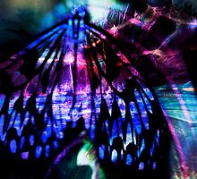 Digital Butterfly 4 by Marion Chapman