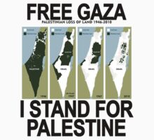 FREE SAFE GAZA PALESTINE  by redbuble2014