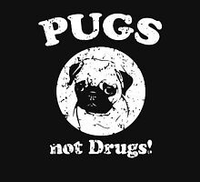 Pugs Not Drugs One Color Unisex T-Shirt