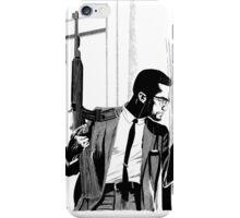 Malcolm X Illustration iPhone Case/Skin