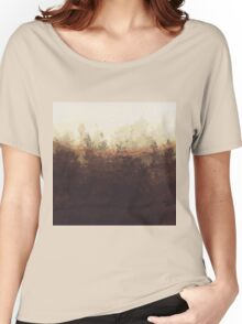 brown Women's Relaxed Fit T-Shirt