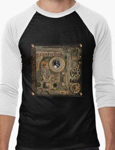 steampunk Mechanism Men's Baseball ¾ T-Shirt
