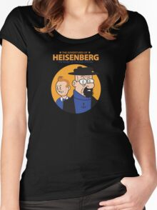 The Adventures of Heisenberg Women's Fitted Scoop T-Shirt