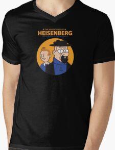 The Adventures of Heisenberg Mens V-Neck T-Shirt