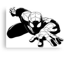 Spiderman shadow Canvas Print