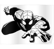 Spiderman shadow Poster
