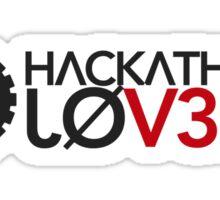 Hackathon Lovers Sticker