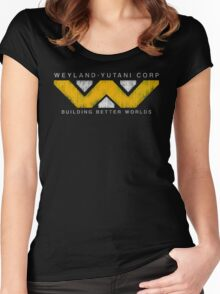 Weyland Yutani - Grunge Women's Fitted Scoop T-Shirt
