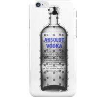 Absolut Vodka under x-ray  iPhone Case/Skin