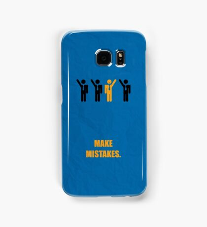 Make Mistakes - Corporate Start-up Quotes Samsung Galaxy Case/Skin