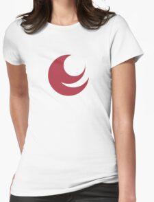 Emblem of Hiroshima Prefecture  Womens Fitted T-Shirt