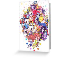 Undertale Family  Greeting Card
