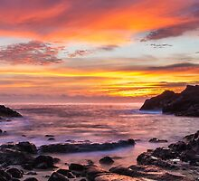 Halona Cove Sunrise 4 by Leigh Anne Meeks