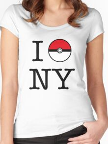 I Poke NY Women's Fitted Scoop T-Shirt