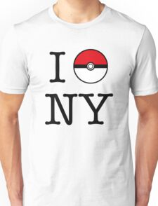 I Poke NY Unisex T-Shirt