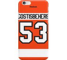 Philadelphia Flyers Shayne Gostisbehere Jersey Back Phone Case iPhone Case/Skin