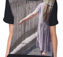 Girl explore the world Chiffon Top