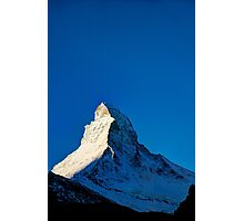 The Matterhorn Photographic Print