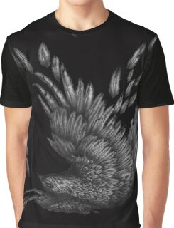Raven Unravelled in Black Graphic T-Shirt