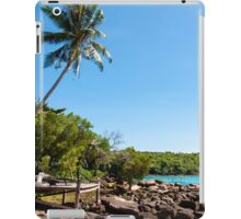 Beautiful tropical landscape on Koh Kood island, Thailand iPad Case/Skin