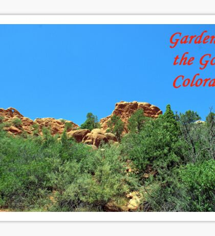 Garden of the Gods #11 Sticker