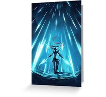 Undyne Attack - Undertale Greeting Card