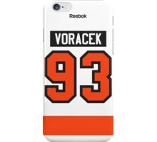 Philadelphia Flyers Jakub Voracek Away Jersey Back Phone Case iPhone Case/Skin