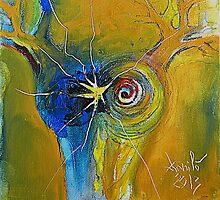 ROBIN WILLIAMS' Angel by Radu Danila