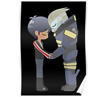 Mass Effect - Shakarian Head Bump (Commission ver. 2) Poster