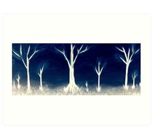 When Night Falls Art Print