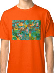 Sloths Jammed Jungle  Classic T-Shirt