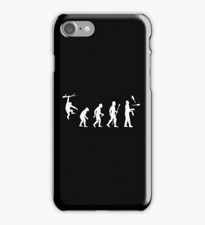 Funny Evolution Juggling iPhone Case/Skin