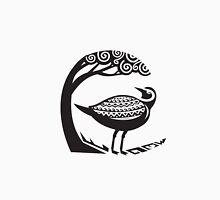 Golden Plover Standing Tree Tribal Art Unisex T-Shirt