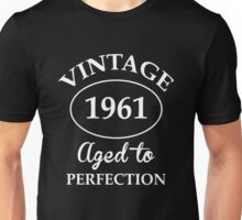 Vintage 1961 Aged to Perfection Unisex T-Shirt