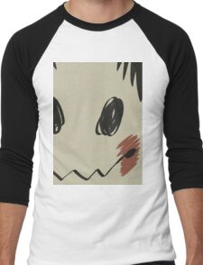 Mimikyu print T Men's Baseball ¾ T-Shirt