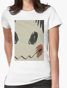 Mimikyu print T Womens Fitted T-Shirt