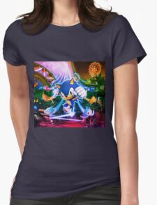Sonic Party Womens Fitted T-Shirt