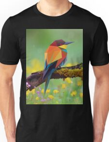 Bird Pinting Vector Unisex T-Shirt
