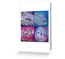 Love in all Seasons Greeting Card
