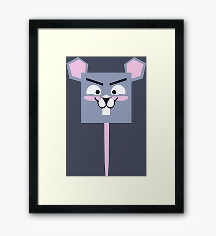 Cute Tiny Mouse Framed Print