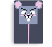 Cute Tiny Mouse Canvas Print