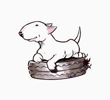 Bull Terrier On Board Funny Unisex T-Shirt